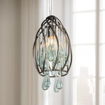 Varaluz Area 51 Recycled Glass Mini Pendant Light
