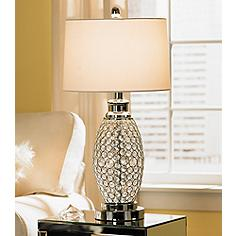 Beaded Table Lamp Table Design Ideas