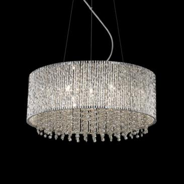 "ET2 Spiral 22 1/2"" Wide 10-Light Crystal Pendant Light"