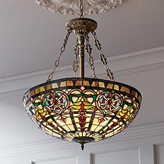 Tiffany chandeliers stained glass tiffany chandelier designs ornamental tiffany style 24 wide art glass pendant light aloadofball Gallery
