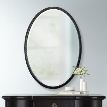 "Uttermost Casalina Oil-Rubbed Bronze 22"" x 32"" Wall Mirror"