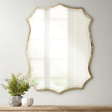 "Uttermost Migiana Oxidized Nickel 23"" x 30"" Wall Mirror"