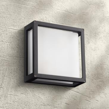 "Mauviel 9 3/4"" High Bronze Outdoor Wall or Ceiling Light"