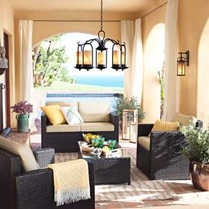 Outdoor Living Design Ideas & Room Inspiration | Lamps Plus