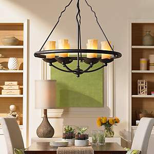 Dining room design ideas room inspiration lamps plus a candelabra style chandelier adds warmth and coziness to any dining room aloadofball Gallery