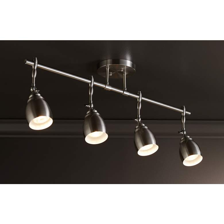 Pro Track® Elm Park Brushed Nickel 4-Light Track