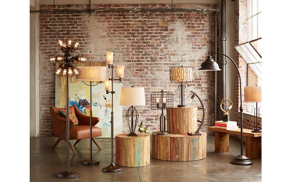 The Many Forms Of Industrial Style Floor Lamps And Table Lamps