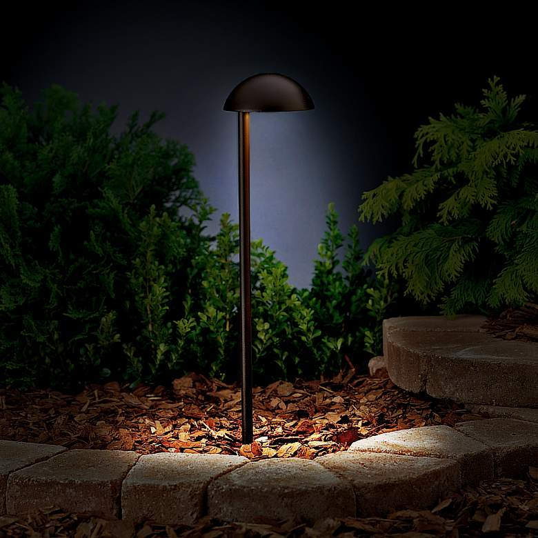 Kichler Bronze Side Mount Eclipse Low Voltage Path