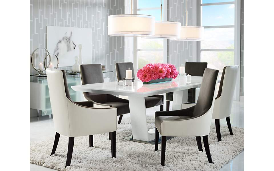 Large Drum Pendants Light A Long Dining Room Table Lamps Plus