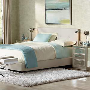 Coastal Style Offers Effortless Elegance As Shown In This Sleek Bedroom Scene