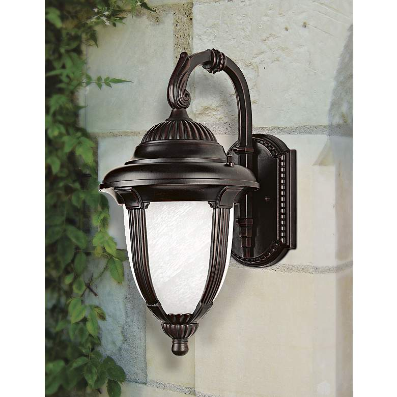 "Casa Sorrento™ 18 1/2"" High Outdoor Wall Light in scene"