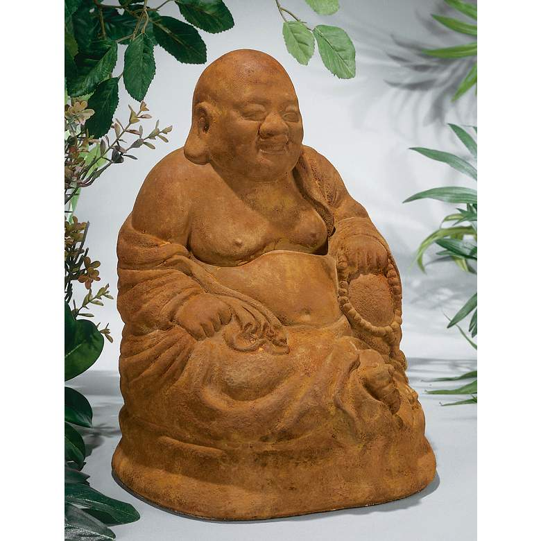 "Henri Studio Ho Tai the Laughing Buddha 14""H"