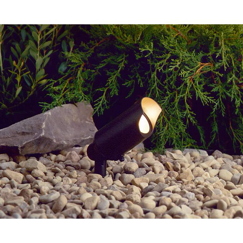 Kichler Aluminum Low Voltage Landscape Scoop Accent Light