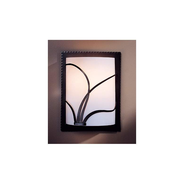 Hubbardton Forge Left Face Reed Wall Sconce