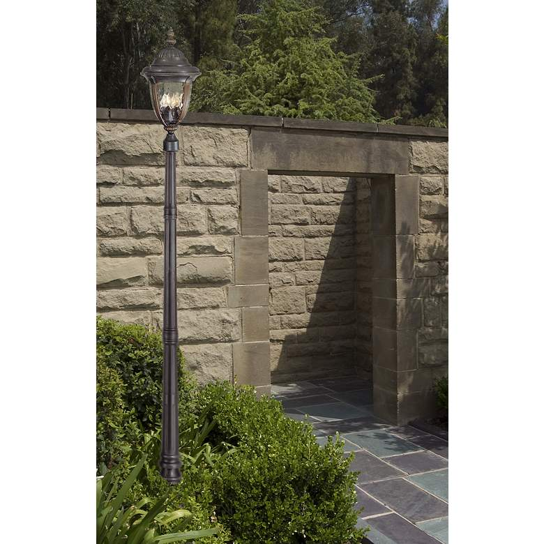 "Bellagio 24 1/2"" High Bronze 4-Light Outdoor Post"