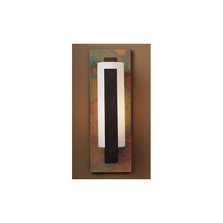 Impressions Collection Patina Wall Sconce in scene