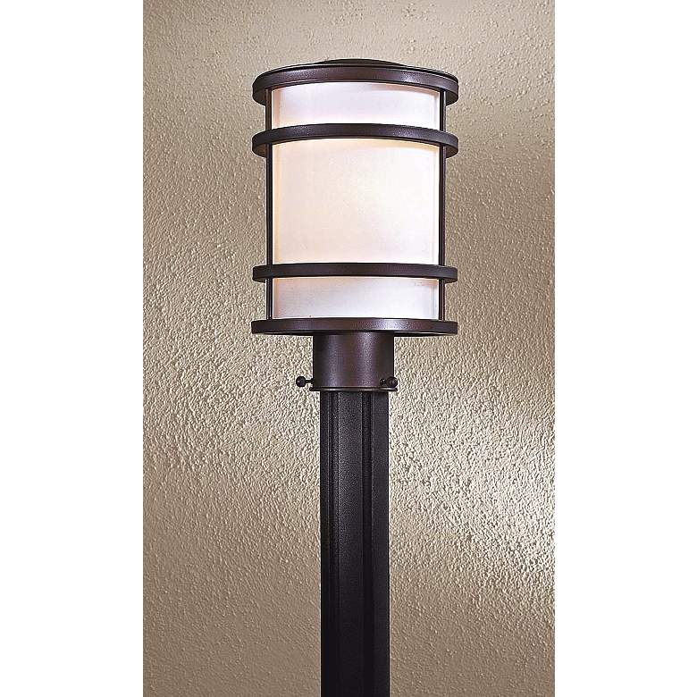 "Bay View Collection 12 1/4"" High Bronze Post"
