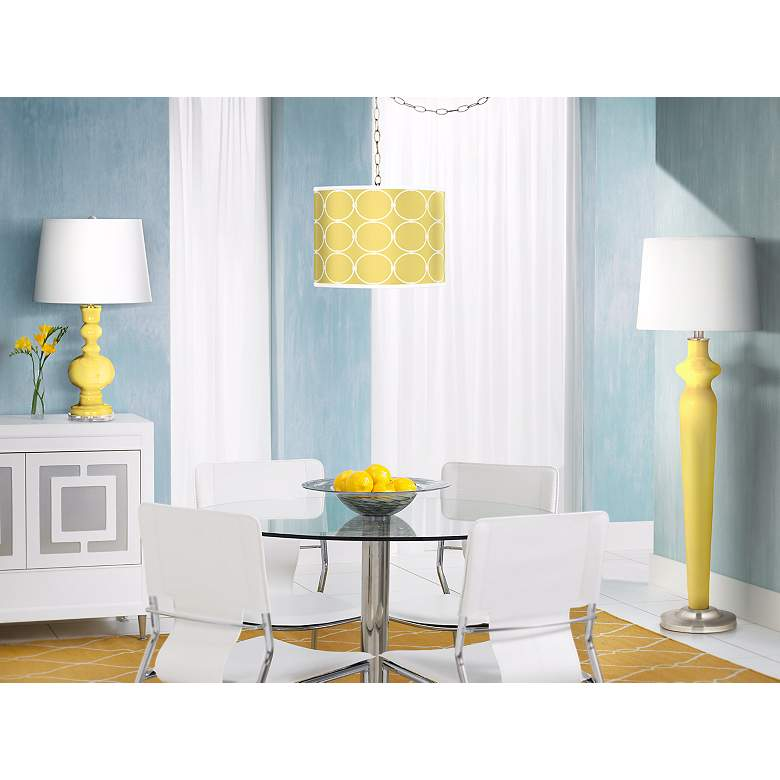 Lemon Twist Apothecary Table Lamp