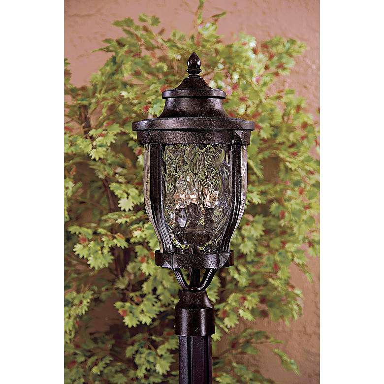 "Merrimack Collection 24"" High Outdoor Post Mount Light in scene"
