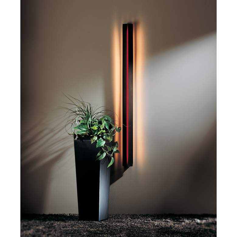 Gallery Collection Red Acrylic Energy Efficient Wall Sconce in scene