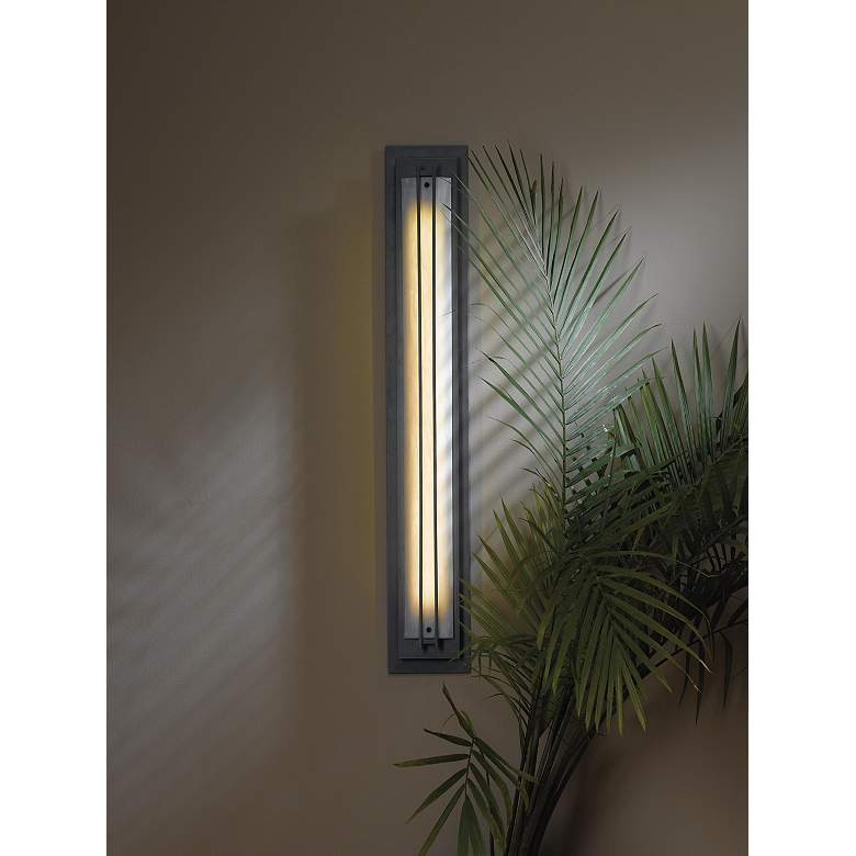 Ono Collection Decaf Acrylic Energy Efficient Wall Sconce in scene