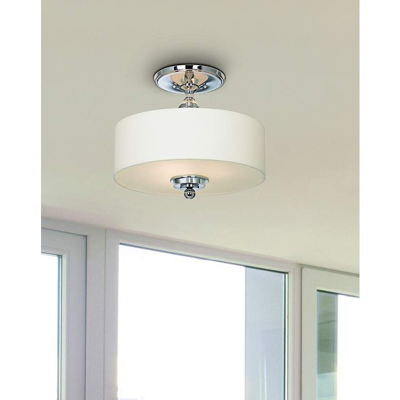 "Downtown Collection 17"" Wide Ceiling Light Fixture in scene"