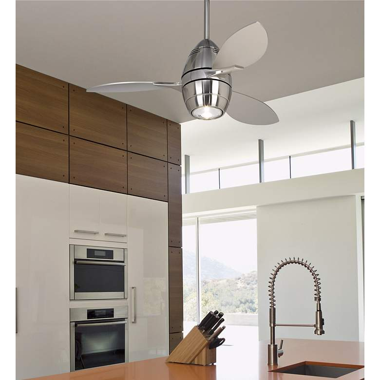 "36"" Casa Vieja Revolve® Ceiling Fan in scene"
