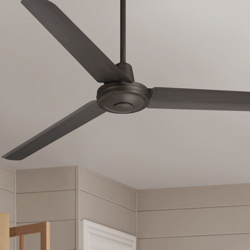 "60"" Casa Vieja Turbina™ DC  Damp Bronze Ceiling Fan"
