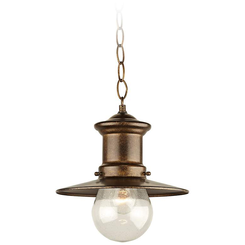 "Maritime Collection 10"" High Outdoor Hanging  Light more views"