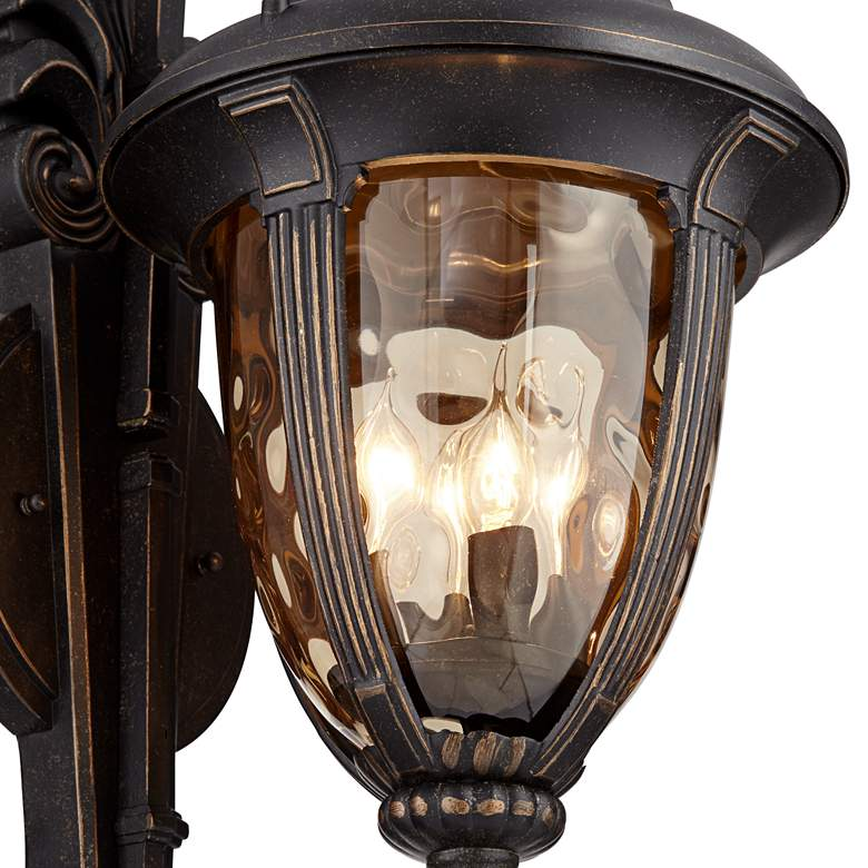 "Bellagio™ 27 1/2"" High Double Arm Outdoor Wall Light more views"