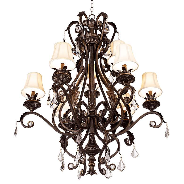 Kathy Ireland Ramas de Luces Nine Light Chandelier more views