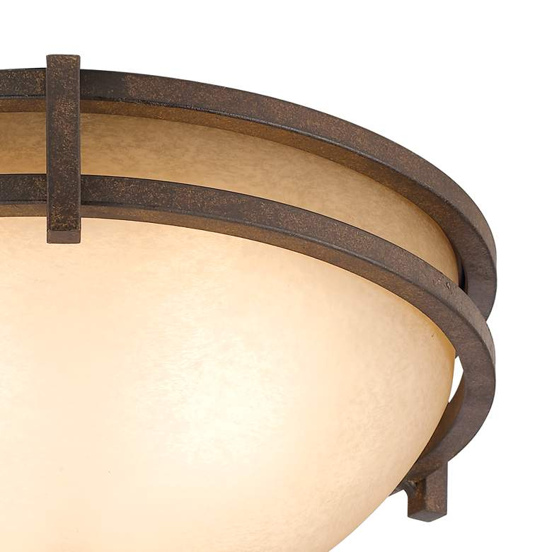 "Oak Valley Collection 15"" Wide Scavo Glass Ceiling Light more views"
