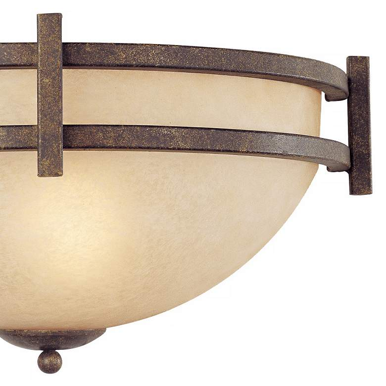 "Oak Valley Collection 14 1/2"" Wide Pocket Wall Sconce more views"