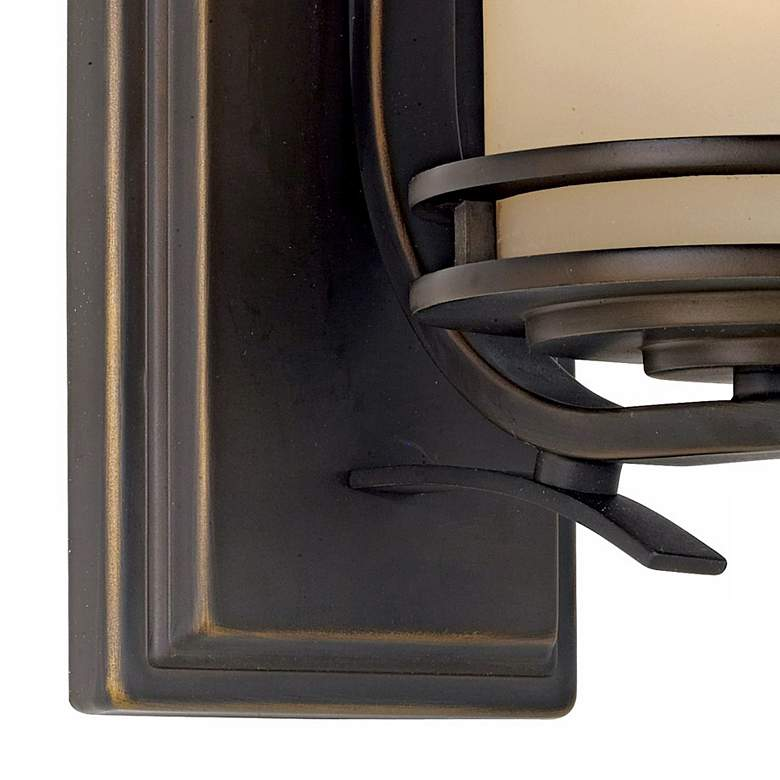 "Hendrik Bronze 12"" High Wall Sconce more views"