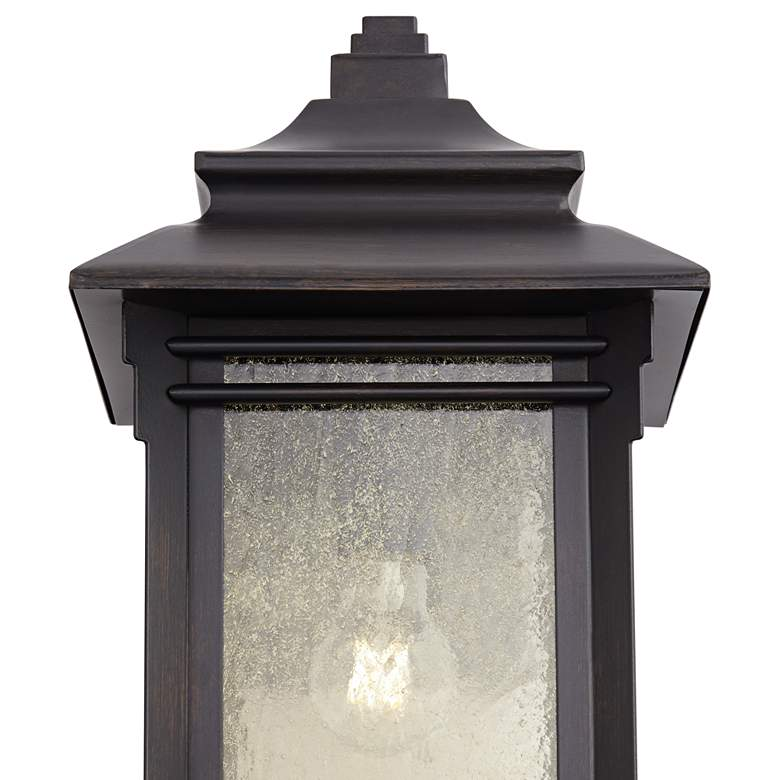 "Hickory Point 16"" High Bronze Outdoor Wall Light more views"
