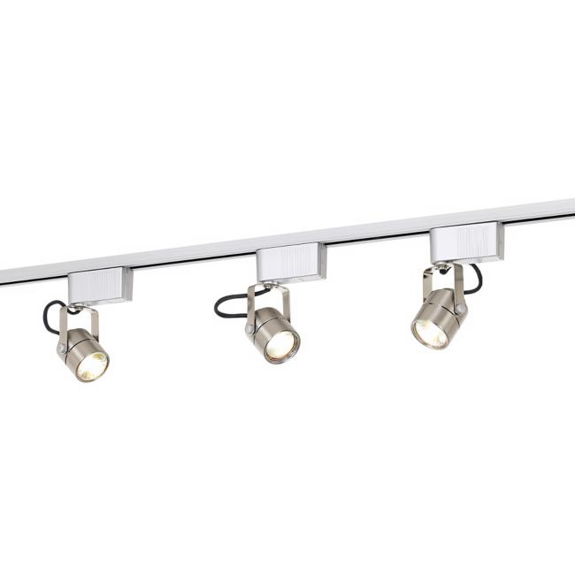 Pro Track® Satin Nickel 150 Watt Low Voltage Track Light Kit