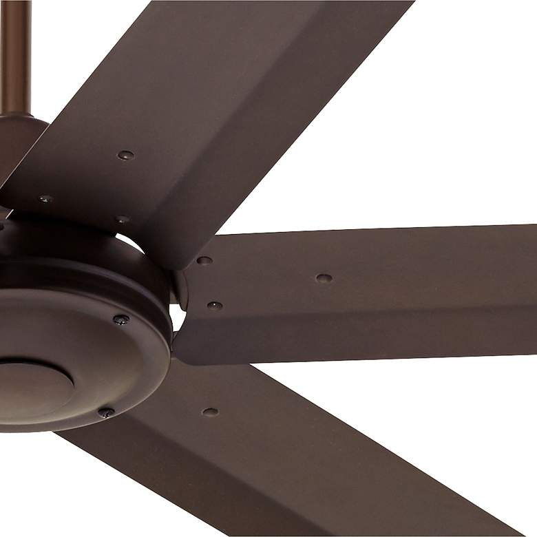 "60"" Turbina Max™ DC Bronze Outdoor Ceiling Fan more views"