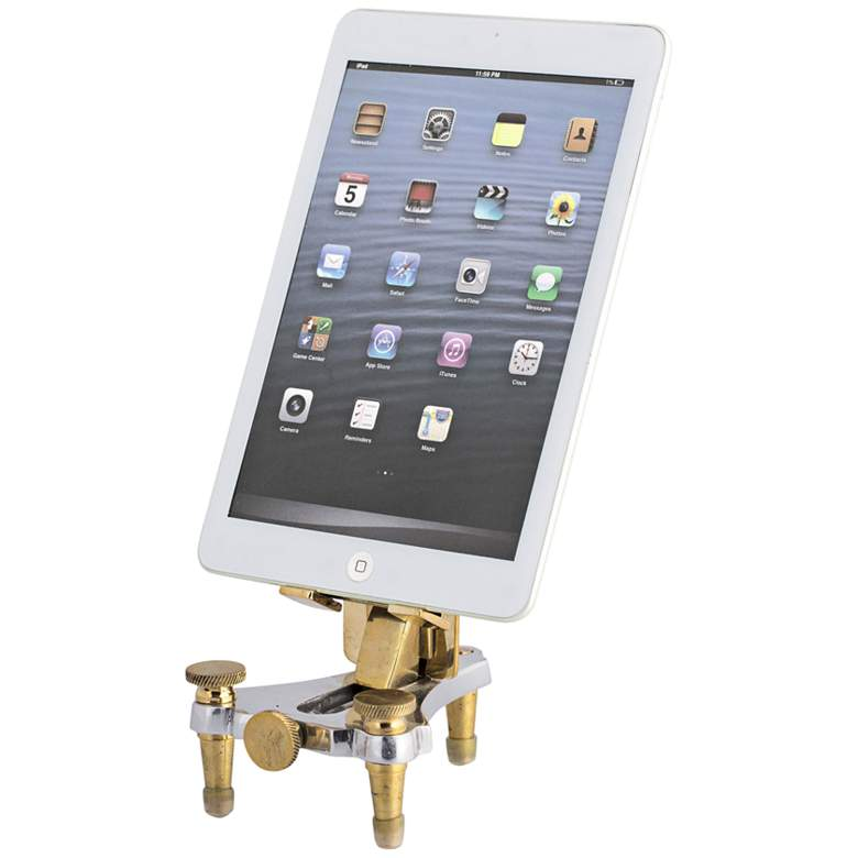 "Geneva 7"" High Tablet or Phone Viewing-Charging Stand  more views"