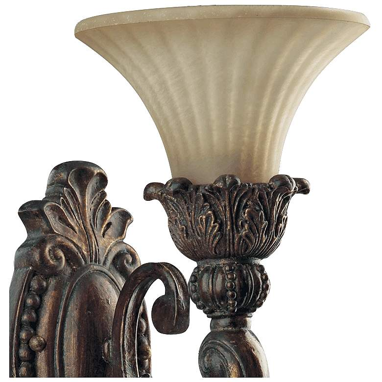 "Quorum Madeleine 21 1/2"" High Corsican Gold Wall Sconce more views"