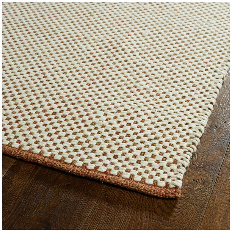 "Kaleen Colinas COL04-86 5' x 7'6"" Ivory Area Rug more views"