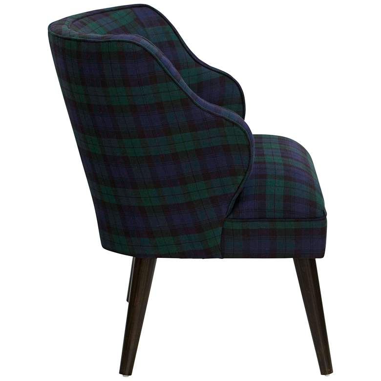 T-bird Blackwatch Fabric Armchair more views