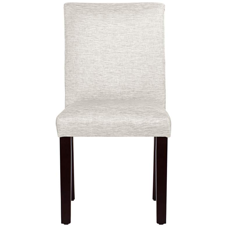 Main Street Groupie Oyster Fabric Dining Chair more views