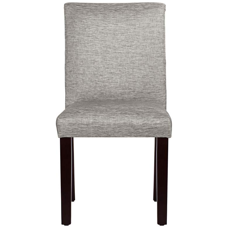 Main Street Groupie Pewter Fabric Dining Chair more views