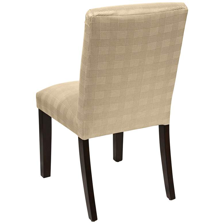 Main Street Polished Gold Fabric Dining Chair more views