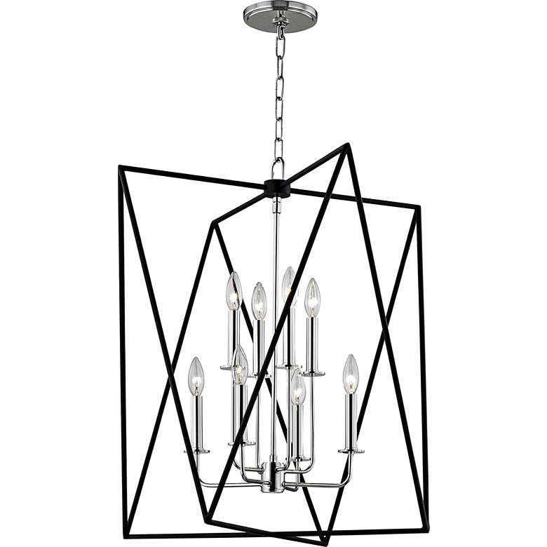 "Hudson Valley Laszlo 28 3/4""W Polished Nickel Pendant Light more views"