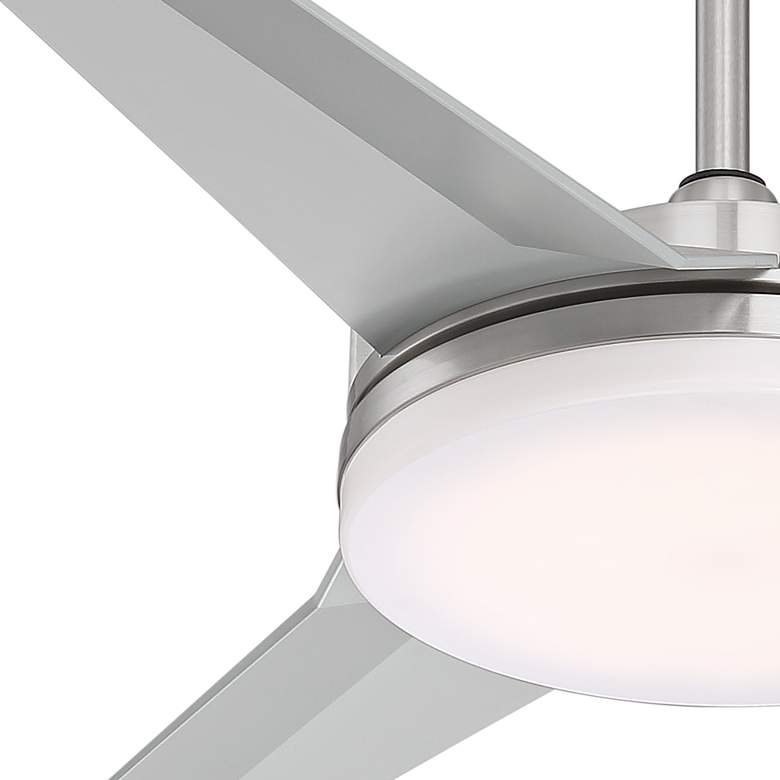 "52"" Cyber™ Brushed Nickel Ceiling Fan more views"