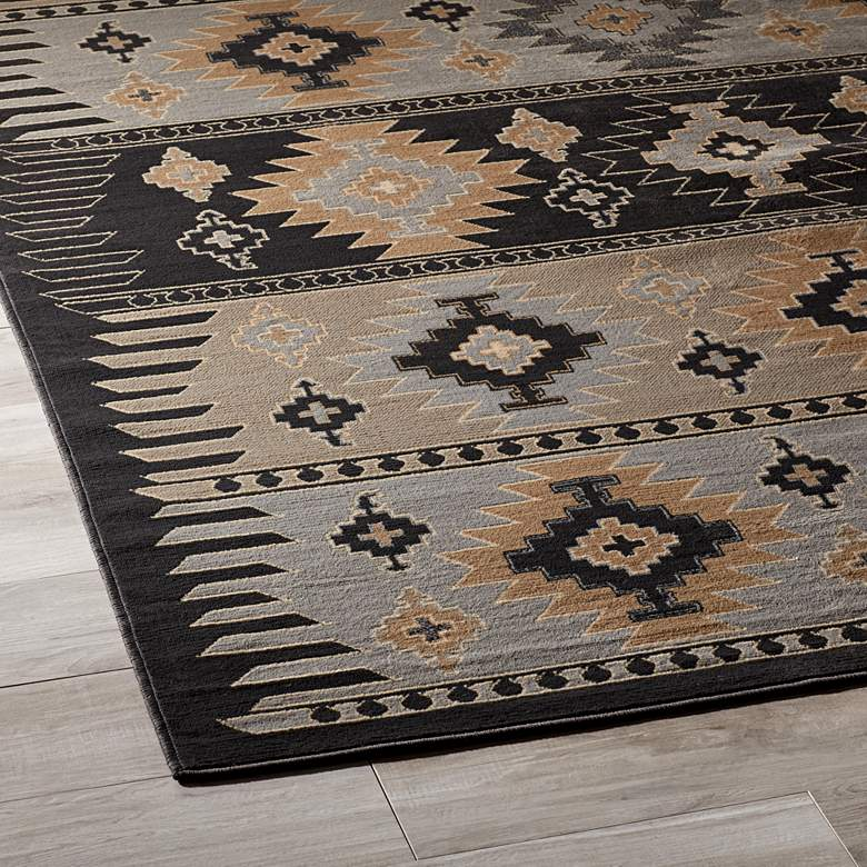 "Surya Paramount 7'9""x11'2"" Gray and Khaki Area Rug more views"