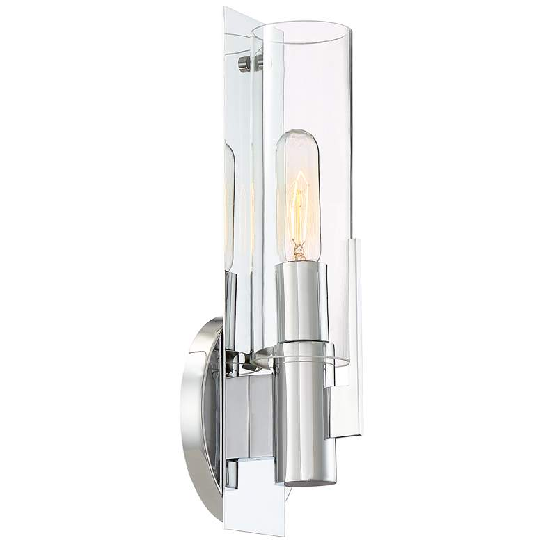 "Possini Euro Pax 15"" High Wall Sconce in Chrome more views"