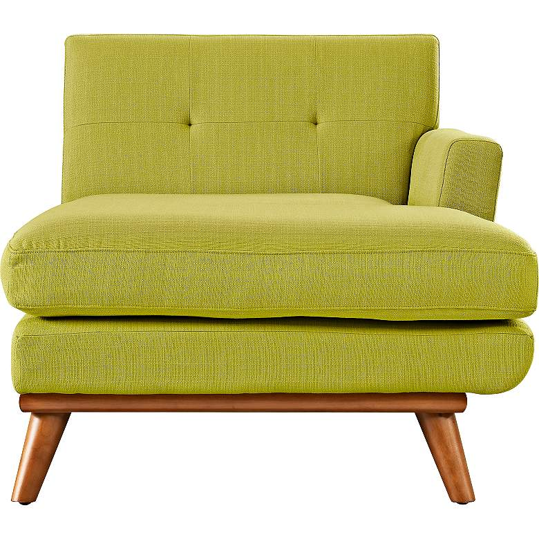 "Engage 36 1/2"" Wide Wheatgrass Tufted Right-Arm Chaise more views"