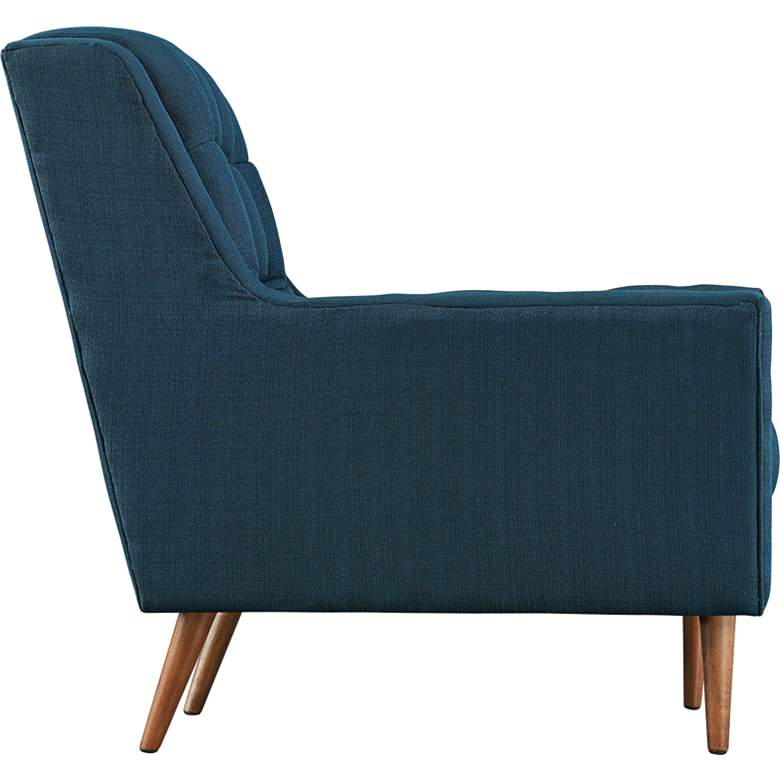 "Response 78"" Wide Azure Fabric Tufted Loveseat more views"